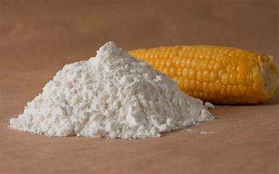 кукурузный крахмал и кукуруза